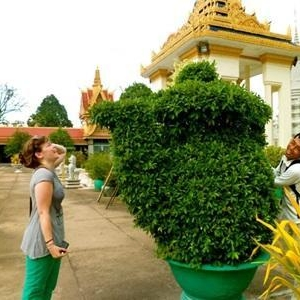 Johanna V au Cambodge